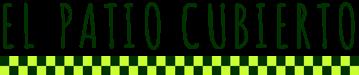 El Patio Cubierto - Formación online